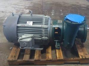"Ingersoll Rand 6""x8"" GRVL60 Pump w/50HP Motor (Rebuilt & Mounted on Base)"