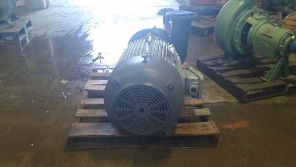 "Ingersoll Rand 6""x8"" GRVL60 Pump w/50HP Motor (Rebuilt & Mounted on Base)"