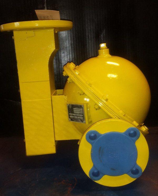 LC MS-7 Spherical Flow Meter w/Register - Liquid Controls