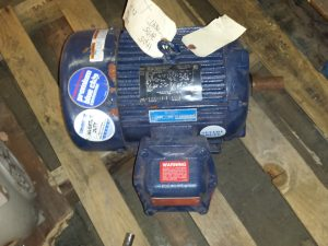 Marathon 5HP Motor (60Hz/50Hz - details in listing description) 3475RPM
