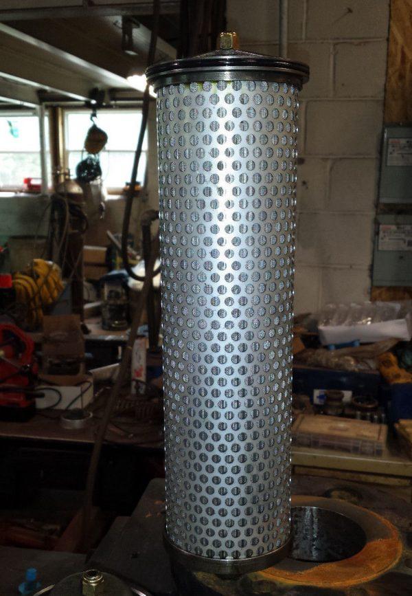 "Parker 400DD 238W 13491 Carbon Steel Duplex Strainer - 4"" x 4"" w/Easy Off Tops"