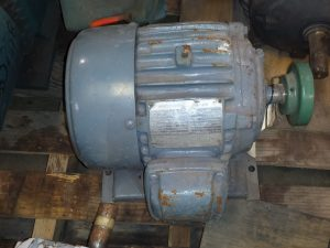 US Electric Motors 3HP 3450RPM 3-Phase Motor