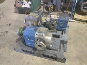 "Viking S4S Stainless Steel 3"" Lobe Pump - REBUILT!"