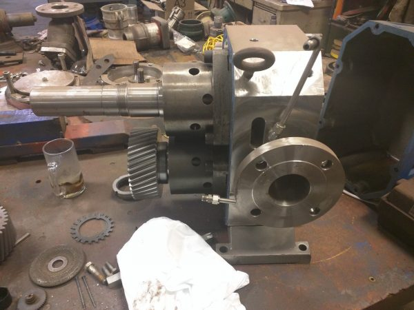 "Viking S4S Stainless Steel 3"" Lobe Pump - USED OR REBUILT!"