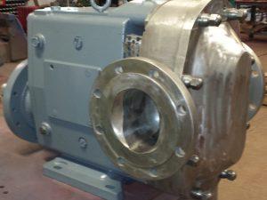 "Waukesha 320U2 SP - 6"" x 6"" Stainless Steel Lobe Pump"
